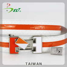 Luxury Classic Top Cool custom Belt for magnetic golf ball marker