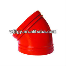 FM Approved different types pipe fitting of 45 Deg. Elbow