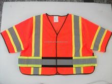 2015 New Police Workwear High Visibility Bird Eye Mesh Reflective Safety Vest