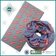 Neck tube bandana with sublimation printing kerchief