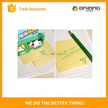 Onzing good quality cube notepad with pallet