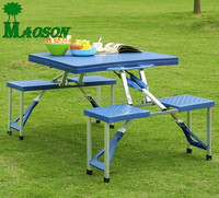 selling aluminium plastic folding table and chair