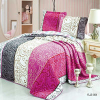 Chinese wonderful high quality bed sheet hand work