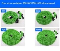 Premuium Quality Magic Garden Hose with Brass fitting Flexivle Stretch hose Latex Expandable Garden Hose As Seen on TV