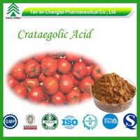 100% natural high quality Hawthorn berry extract /Crataegolic Acid 2% 5% 10%