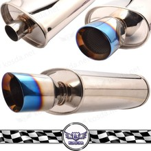 Universal Stainless Steel Titanium Muffler