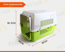 wholesale strong stainless steel dog kennel