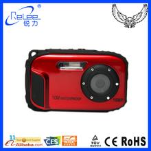 New product 2.7 inch TFT LCD mini waterproof action digital camera