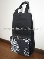 wheel folding shopping bag