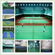 PVC Indoor Badminton Court Sports Flooring/ Used Court Sports Flooring