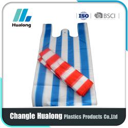 Liquid Packaging Plastic T-Shirt Bag Manufacturers