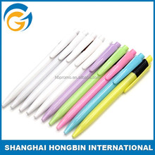 Advertising Hetel Customized Plastic Promotion Pen Hot Sale