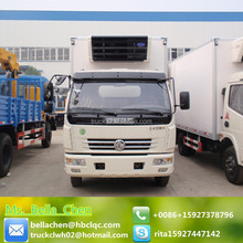 7000KG DONGFENG truck freezer for vegetables and meat transportation