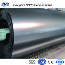 2MM HDPE Geomembrane Waterproof Sheet Green Black Color
