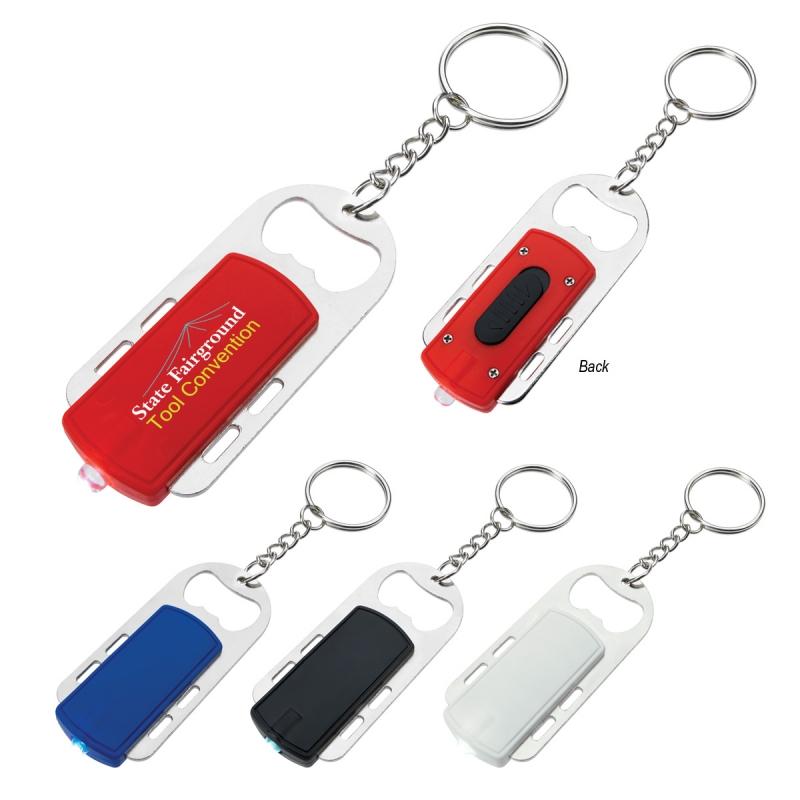 top quality bottle opener keychain promotion key light. Black Bedroom Furniture Sets. Home Design Ideas