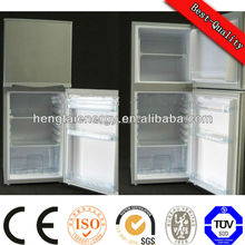 2015 OEM CE UL africa europe frosted glass fridge