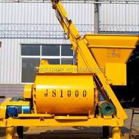 js750 concrete mixer/js beton mixer with mn steel blades