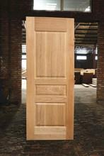 Caliente venta HDF moldeado puerta de chapa de piel y diferentes tipos de madera contrachapada puerta de la piel