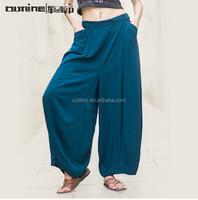 Outline Original Brand Maxi Long Fashion Pants Women's Summer Pleated Cool Wide Leg Pants