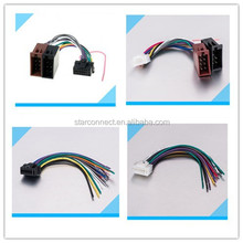Latest OEM/ODM electrical automotive iso Radio wire harness adapter for car stereo radio