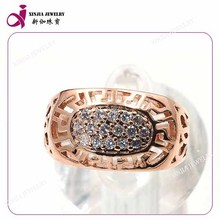 2015 fashion design copper alloy rings latest man gold ring designs
