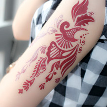 eco-friendly high quality temporary tattoo waterproof skin care temporary fake tattoo kit
