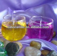 long burning gel candle/candle making gel wax