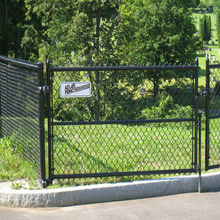 hot new products cheap diamond chain link garden fence(manufactory)