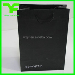 High quality customized branded jewelry paper bag