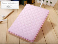 Quilted PU case for ipad air/ air 2