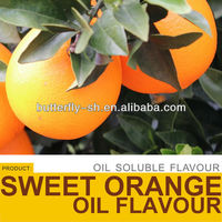 Orange oil flavor for bakery and candy