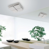 Lanfu pure white good quality two years warranty light The newest design acrylic dining ceiling