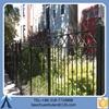Black High-performance Modern Steel Fence/Aluminium Fence/Metal Fence For Garden
