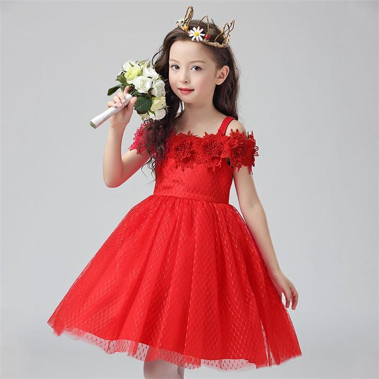 Cheaper Ball Gown Wedding Girl Strapless Dresses Princess Prom Kids ...