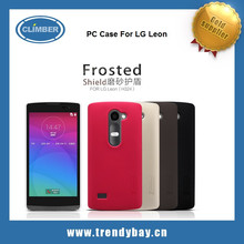Nillkin brand super frosted shield Back PC Cover Case For LG Leon