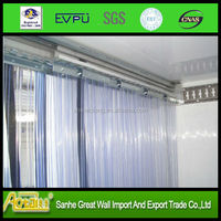 transparent clear flexible soft anti- static PVC door curtain roll,pvc door curtain