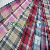 poly cotton yarn dyed fabric
