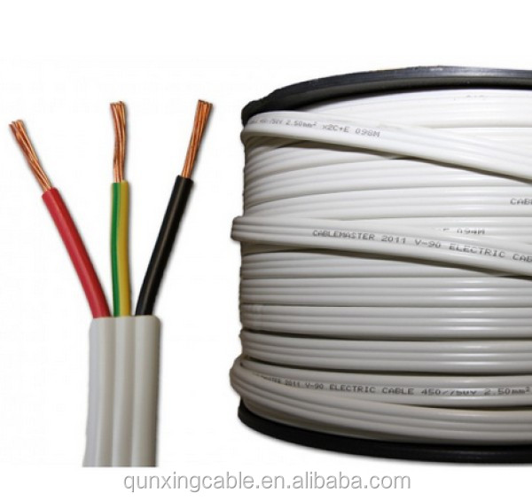 Flat Electrical Cable : Flat tps cable mm electric wire buy