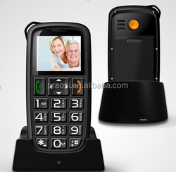 ce rohs cheap mobile phone with big fonts & large button & music player