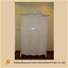 Oak Wood Wardrobe/Solid Wood Wardrobe/Bedroom Furniture Wardrobe