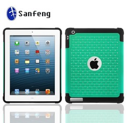 3 in 1 diamond case for Ipad Air 5 cover with high quality