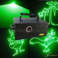 5W Green animation laser show disco light