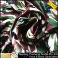 Newly100% de cetim de poliéster tecido camuflado
