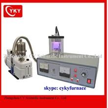 compact plasma sputtering coater designed for making metallic coatings / Plasma Sputtering Coating machine