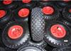 small plastic wheels pneumatic tires 3.00-4