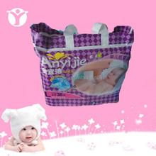 colorful print back sheet with dry surface A grade baby diaper
