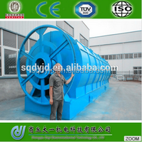 2015 Newest Waste Tyre Pyrolysis Oil Purification Plant/Tire Recycling to Diesel Oil Machine/System