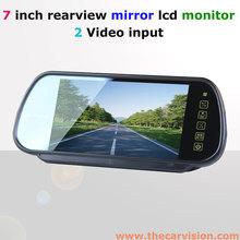 guangzhou thecarvision 7 pollici vista posteriore specchietti per le auto