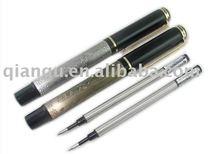 Baoer metal fountain pen roller pen with engraving eight horses