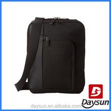 Wholesale black business messenger shoulder bag men
